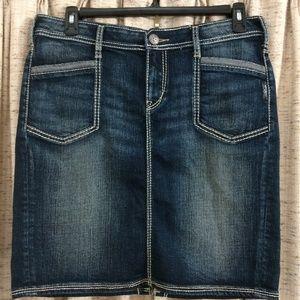 Silver Jeans Co. Blake Denim Skirt